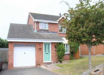 Thumbnail 3 bed detached house for sale in Ivydale, Exmouth