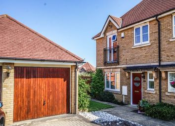 Thumbnail 3 bed semi-detached house for sale in Darwin Close, Medbourne