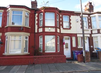 Thumbnail 3 bed terraced house for sale in Bowley Road, Liverpool