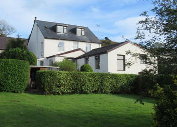 Thumbnail 4 bed detached house for sale in Glan House, Dinas Cross, Newport