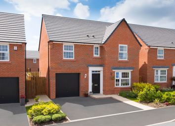 "Thumbnail 4 bed detached house for sale in ""Finsbury"" at Hassall Road, Alsager, Stoke-On-Trent"