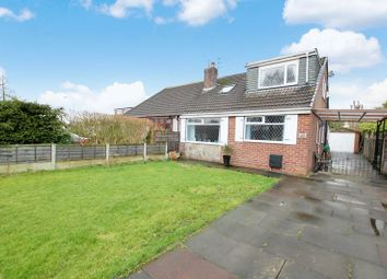 Thumbnail 4 bed semi-detached bungalow for sale in Redcar Road, Little Lever, Bolton