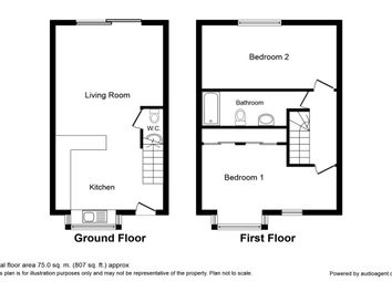 Thumbnail 2 bed semi-detached house for sale in Tonbridge Road, Barming, Maidstone