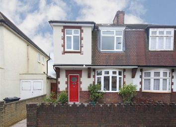 Thumbnail 4 bed semi-detached house for sale in Queens Road, Feltham