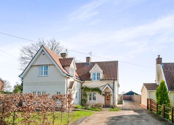 Thumbnail 2 bed semi-detached house for sale in The Street, North Lopham, Diss