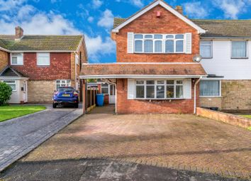 Thumbnail 3 bed semi-detached house for sale in Brooklands Avenue, Great Wyrley, Walsall