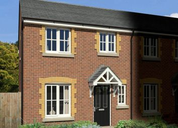 Thumbnail 1 bedroom end terrace house for sale in Plot 59, Station Road, South Molton, Devon