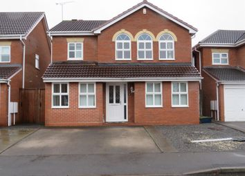 Thumbnail 4 bed detached house for sale in Marston Brook, Hilton, Derby
