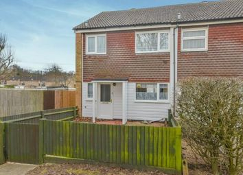 Thumbnail 3 bed end terrace house for sale in Swanstand, Letchworth Garden City, Hertfordshire, England