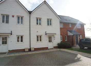 2 bed terraced house for sale in Purple Emperor Grove, Iwade, Sittingbourne ME9