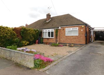 Thumbnail 2 bed semi-detached bungalow for sale in Peterfield Road, Whitwick, Coalville