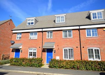 Thumbnail 3 bed town house for sale in Mayfly Road, Northampton