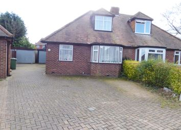 Thumbnail 2 bed semi-detached bungalow for sale in Heather Way, Stanmore, Middx