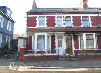 Thumbnail 3 bed terraced house for sale in Llandaff Road, Canton, Cardiff
