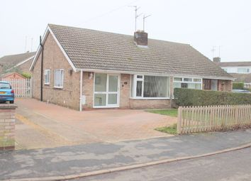 Thumbnail 2 bedroom bungalow to rent in Tavistock Close, Thorney, Peterborough, Cambridgeshire