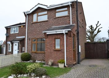 Thumbnail 3 bed semi-detached house for sale in Cloverdale, Midway, Swadlincote