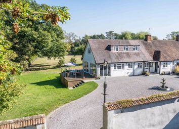 Dunbridge Lane, Awbridge, Romsey SO51. 5 bed semi-detached house for sale