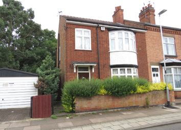 Thumbnail 3 bed end terrace house for sale in Central Avenue, Wigston, Leicester