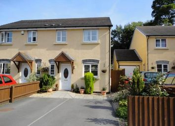 Thumbnail 3 bed semi-detached house to rent in Llwyn Melin, Clydach, Abergavenny