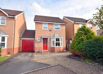 Thumbnail 3 bed link-detached house for sale in Selvester Drive, Quorn, Loughborough