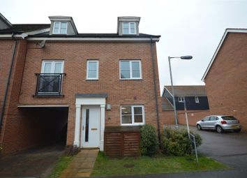 Thumbnail 4 bed town house for sale in Costessey, Norwich