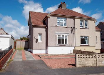 Thumbnail 3 bed semi-detached house for sale in Firhill Avenue, Cairnhill, Airdrie, North Lanarkshire