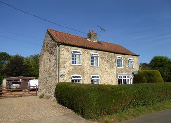 Thumbnail 4 bed detached house for sale in The Row, West Dereham, King's Lynn