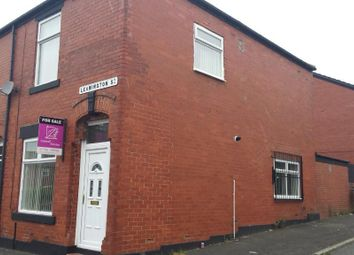 Thumbnail 3 bed end terrace house for sale in Leamington Street, Rochdale, Lancashire