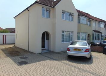 Thumbnail 3 bed semi-detached house to rent in Sherwood Avenue, Greenford