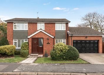 Thumbnail 4 bed detached house for sale in Lane End Close, Shinfield, Reading, Berkshire