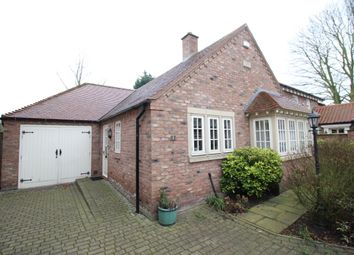 Thumbnail 2 bed bungalow for sale in Hollymead Court, Selby