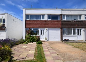 Thumbnail 3 bed end terrace house for sale in Coast Road, Pevensey Bay