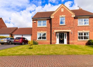 Thumbnail 4 bed detached house for sale in Quantock Court, Sleaford