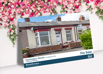 Thumbnail 2 bed bungalow for sale in Hartington Street, Sunderland, Tyne And Wear
