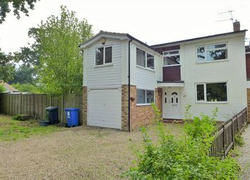 Thumbnail 4 bed link-detached house to rent in Tweseldown Road, Church Crookham, Fleet