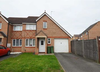 Thumbnail 3 bed semi-detached house for sale in Darien Way, Thorpe Astley, Braunstone, Leicester