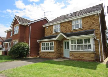Thumbnail 5 bed detached house for sale in Southfield Drive, Barton Seagrave, Kettering