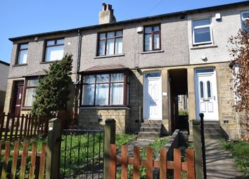 Thumbnail 3 bed terraced house for sale in Dalmeny Avenue, Crosland Moor, Huddersfield