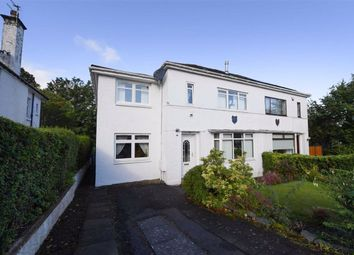 Thumbnail 4 bed semi-detached house for sale in Thornly Park Road, Paisley