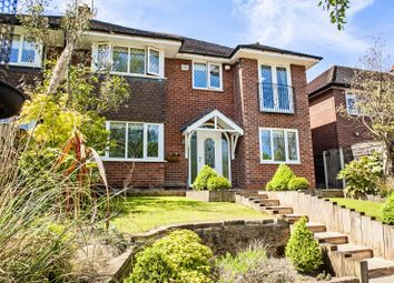 Thumbnail 4 bed semi-detached house for sale in Bunkers Hill, Romiley, Cheshire