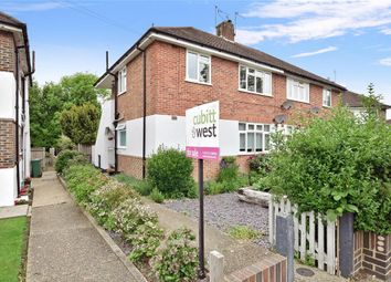 Thumbnail 2 bed maisonette for sale in Meadow Way, Reigate, Surrey