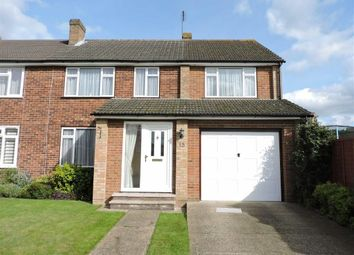 Thumbnail 4 bed semi-detached house for sale in Godley Road, Byfleet, Surrey