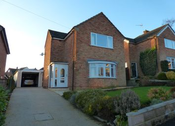 Thumbnail 3 bedroom detached house for sale in Greenway, Ashbourne`