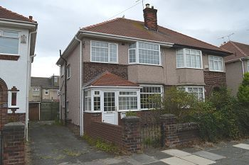 Thumbnail 3 bed semi-detached house for sale in Saltburn Road, Wallasey, Wirral
