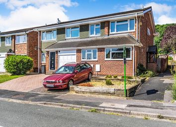 Thumbnail 3 bed semi-detached house to rent in James Copse Road, Lovedean, Waterlooville