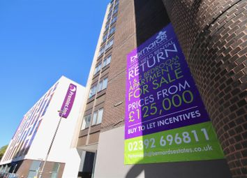 Thumbnail 1 bedroom flat for sale in Isambard Brunel Road, Portsmouth