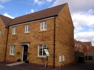 Thumbnail 3 bedroom semi-detached house to rent in Deer Valley Road, Peterborough, Cambridgeshire