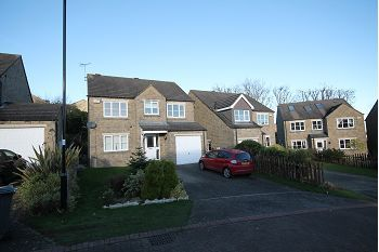 Thumbnail 4 bed detached house to rent in Cross House Close, Grenoside, Sheffield