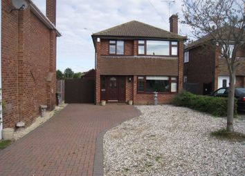 Thumbnail 3 bed detached house to rent in Browns Close, Sapcote, Leicester
