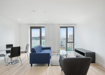 Thumbnail 1 bed flat to rent in Kelson House, Royal Wharf, London